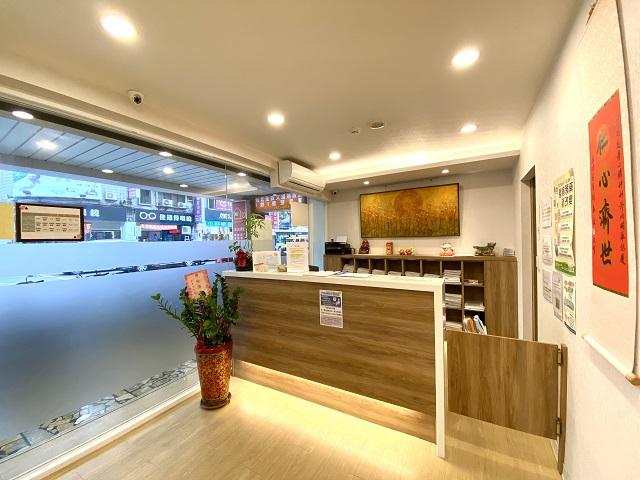台北心理諮商 診所櫃台